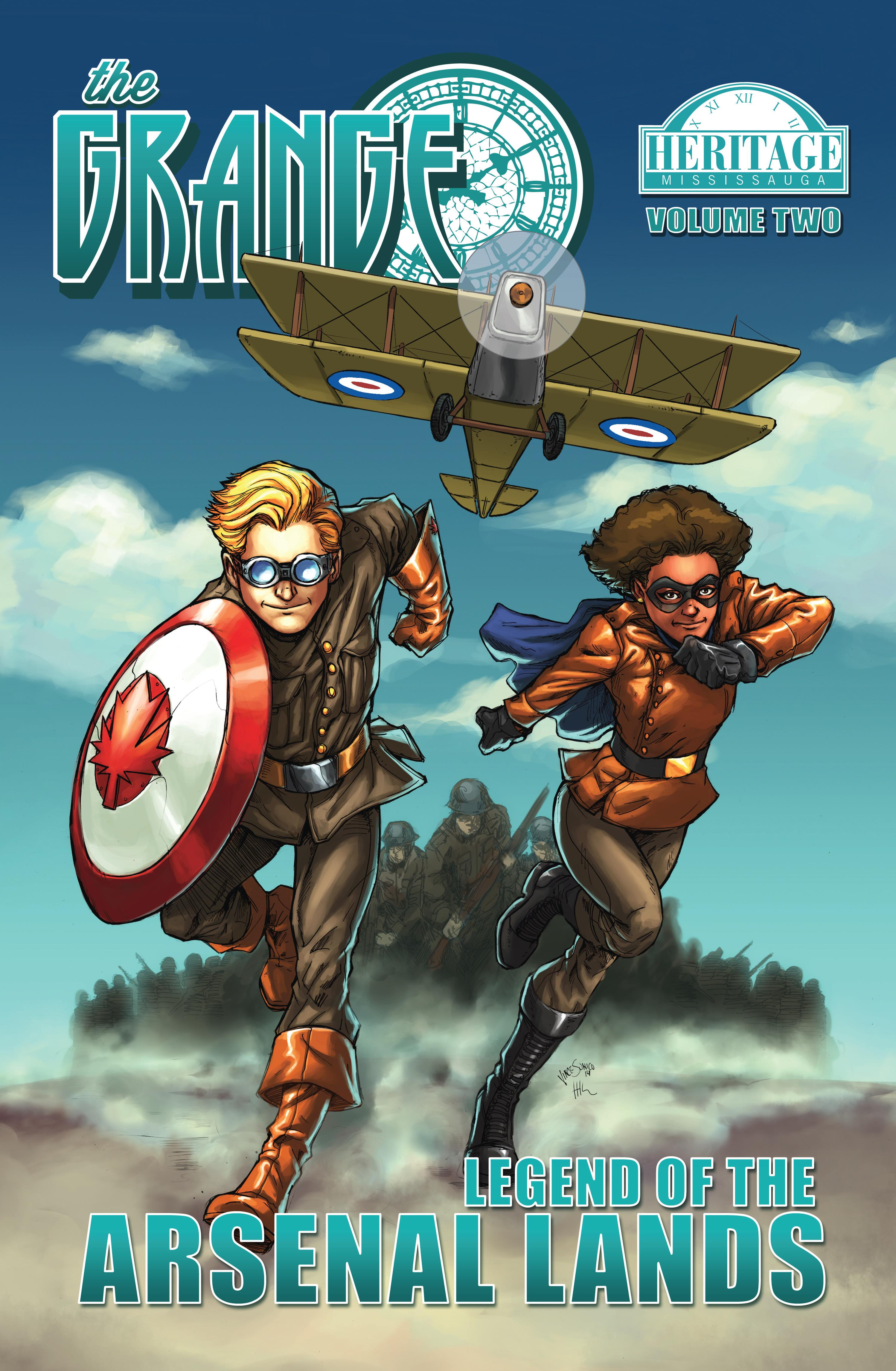 Front Cover Comic 2