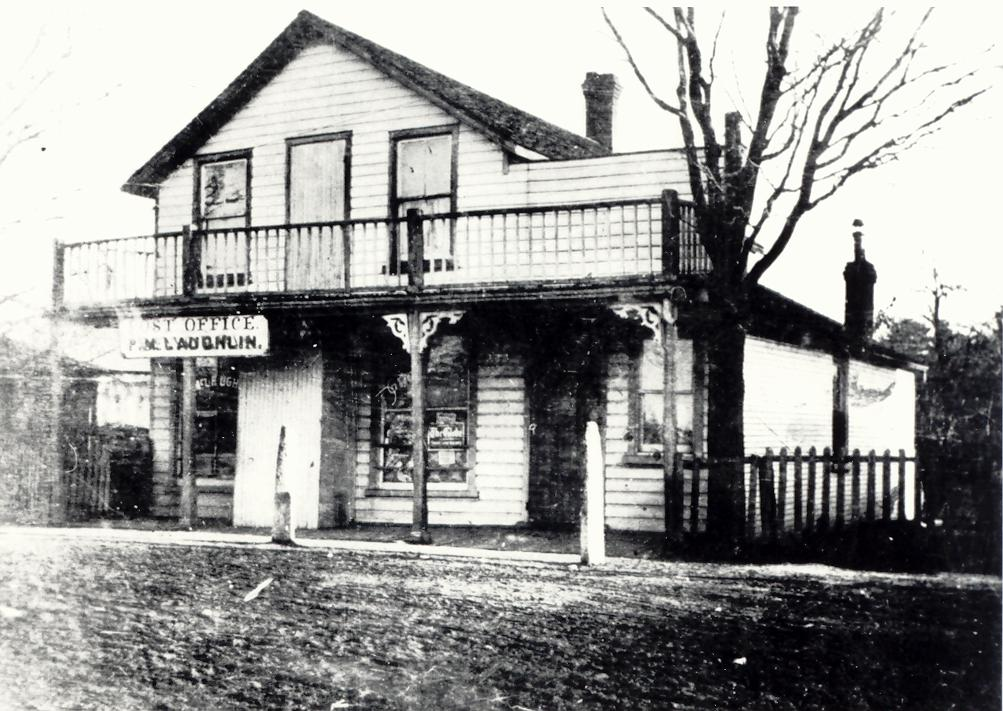 Store & PO – Summerville, c1900