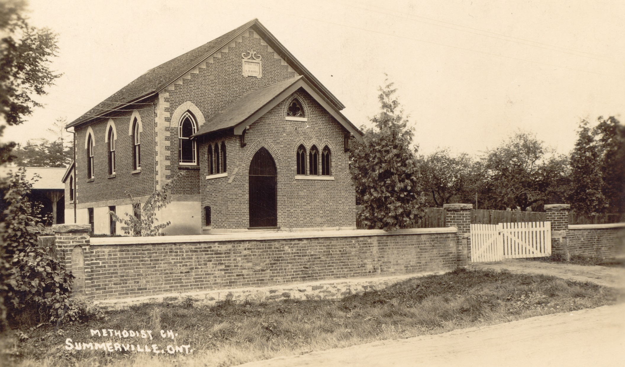 Bethesda Methodist Church, Dixie, c1920