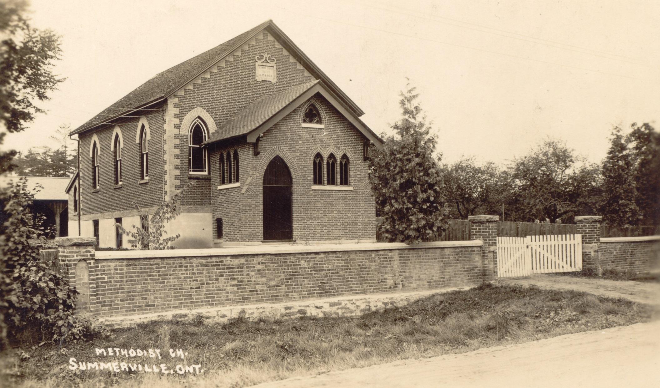 Bethesda Methodist Church, Dixie, c1920