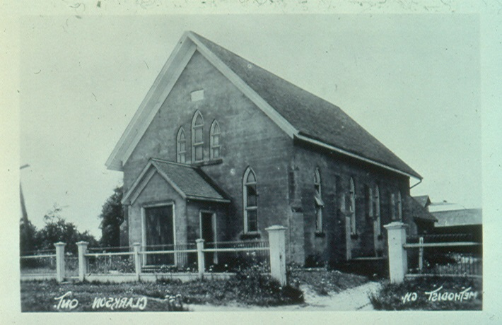 Carman Methodist Church c1910