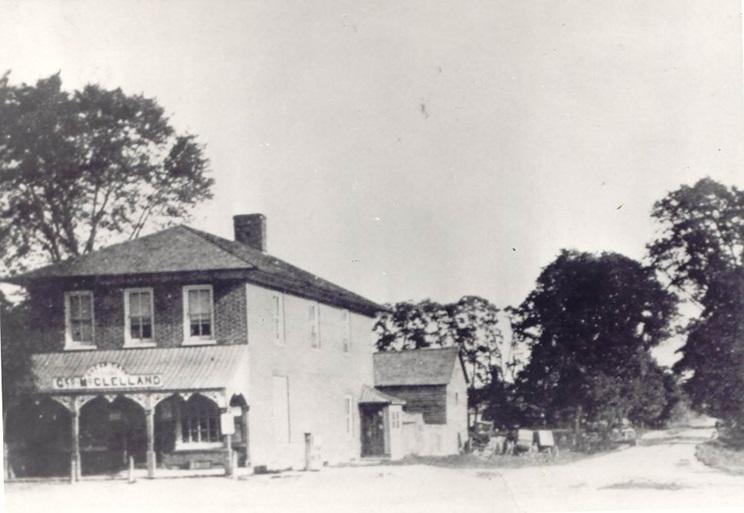 Copeland General Store, Cooksville, c1910