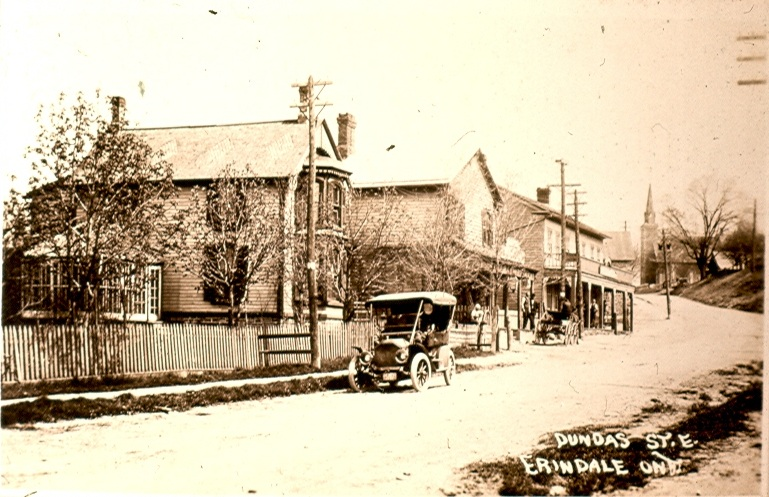 Erindale, Dundas Street looking east, 1913