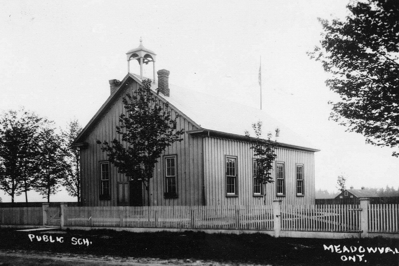 Meadowvale Public School, c1905