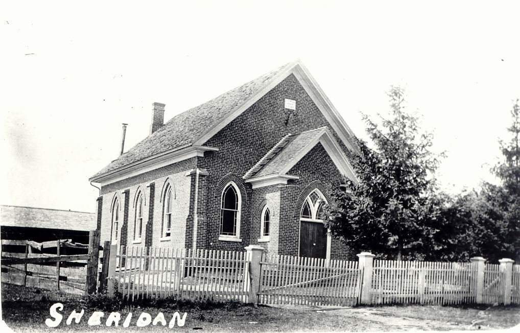 Sheridan Methodist Church, c1910