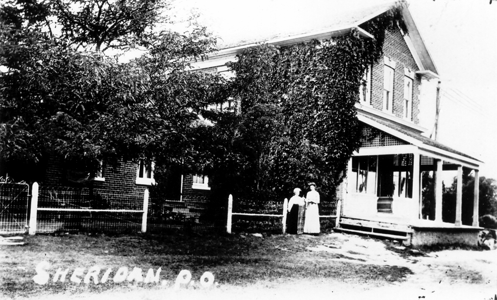 Sheridan – Post Office, c1900