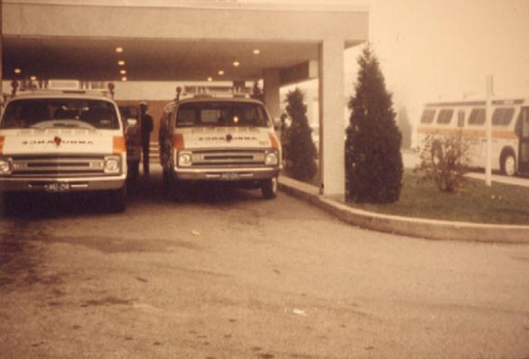 Ambulances – Train Derailment