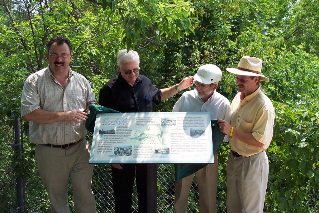 Culham Trail – Barberton plaque unveiling