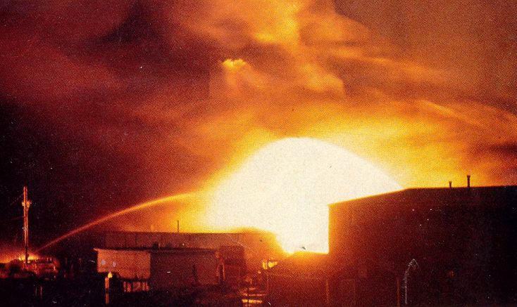 Explosion – Mississauga Train Derailment