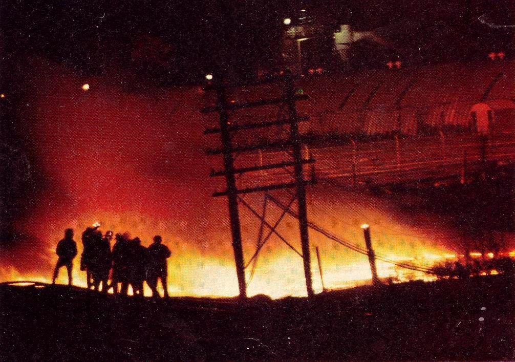 Fire – Mississauga Train Derailment