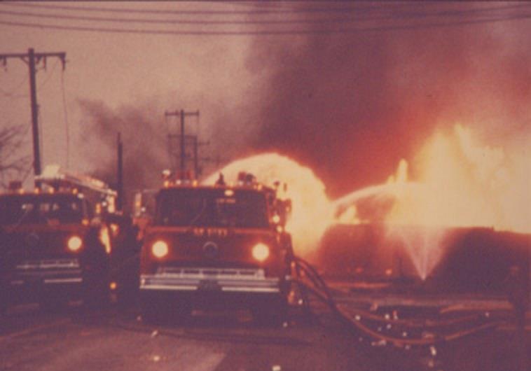 Fire trucks – Train Derailment