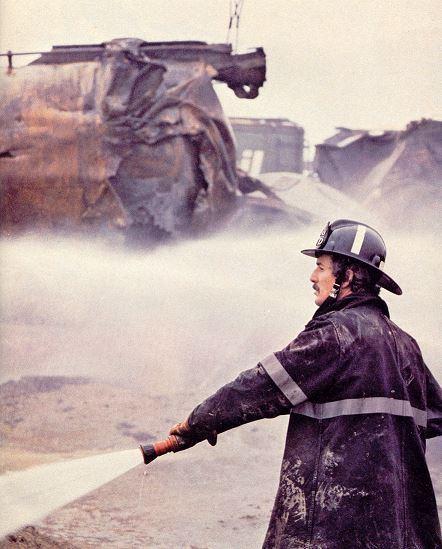 Fireman – Mississauga Train Derailment