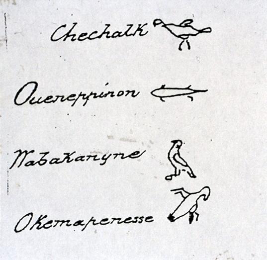 Native signees treaty 13A