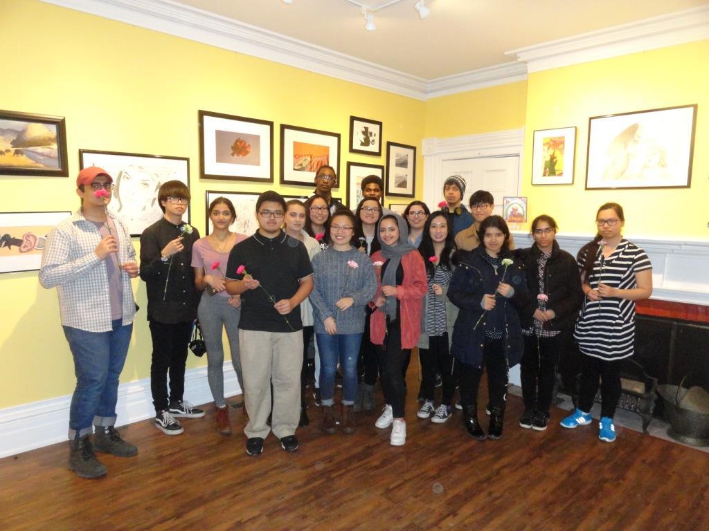 Rick Hansen Secondary School Art Exhibit