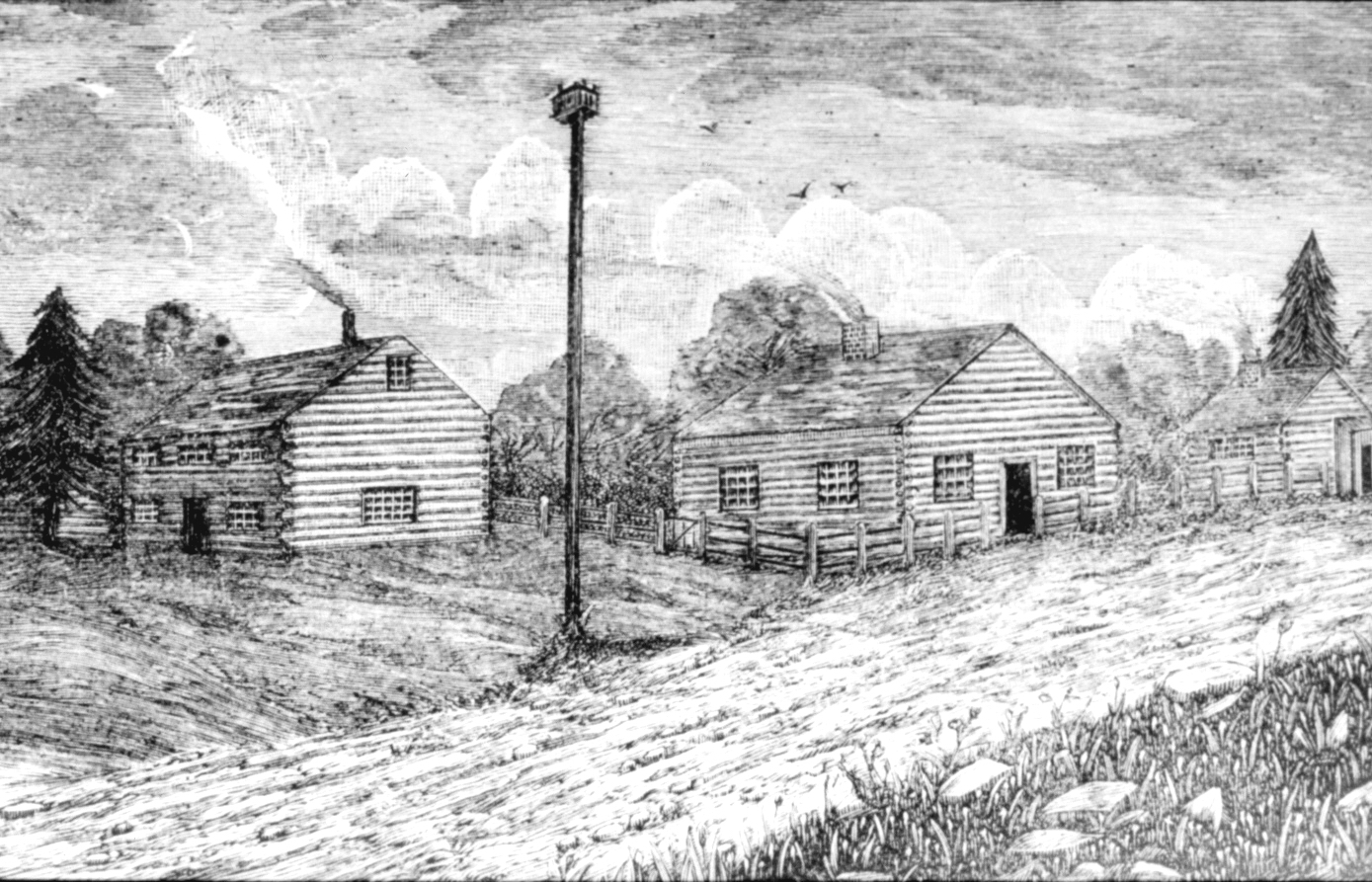 Sketch of the Credit River Methodist Mission by Eliza Field Jones 1833