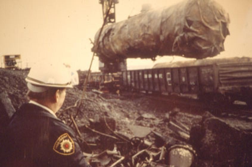The Cleanup – Train Derailment