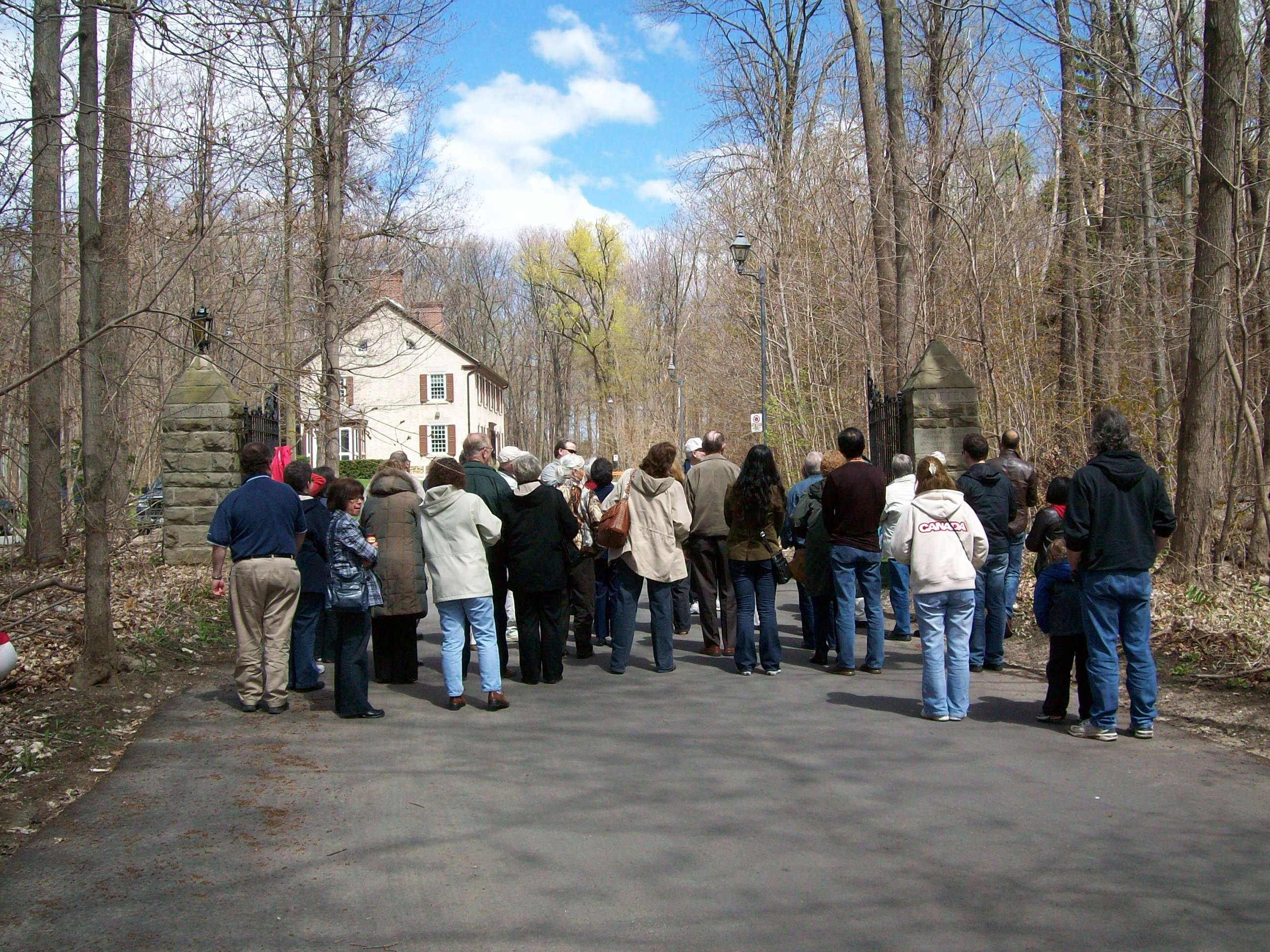 Tour at the Cawthra Estate
