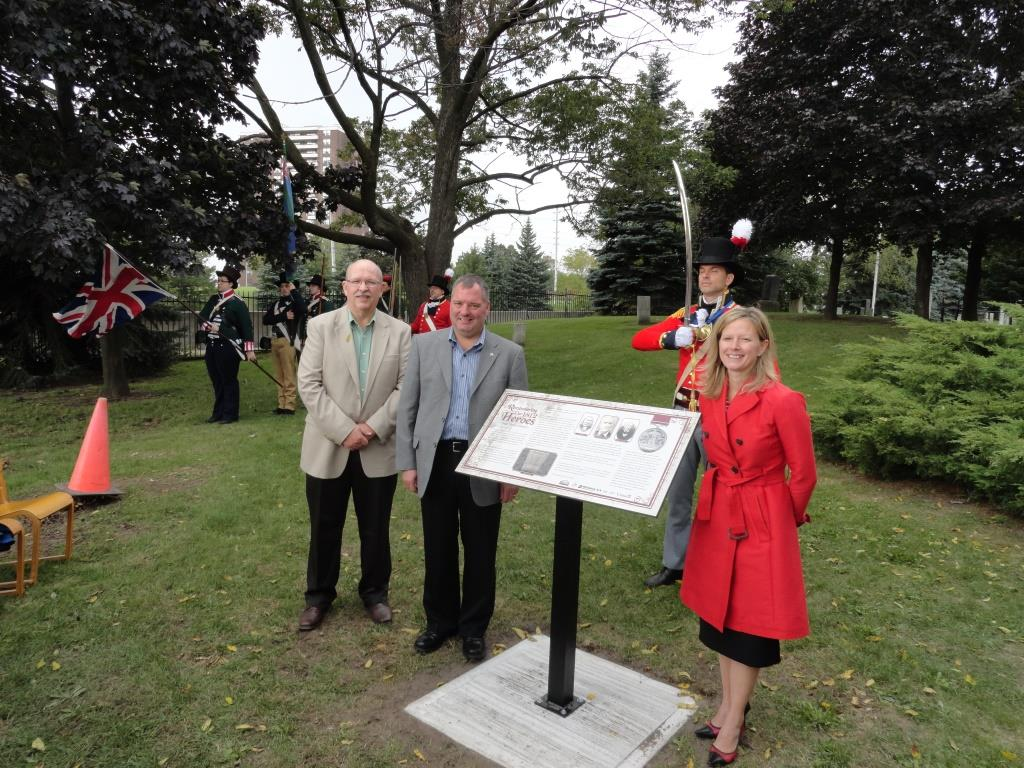 War of 1812 Plaque Unveiling – Dixie Union Cemetery – Heritage Mississauga