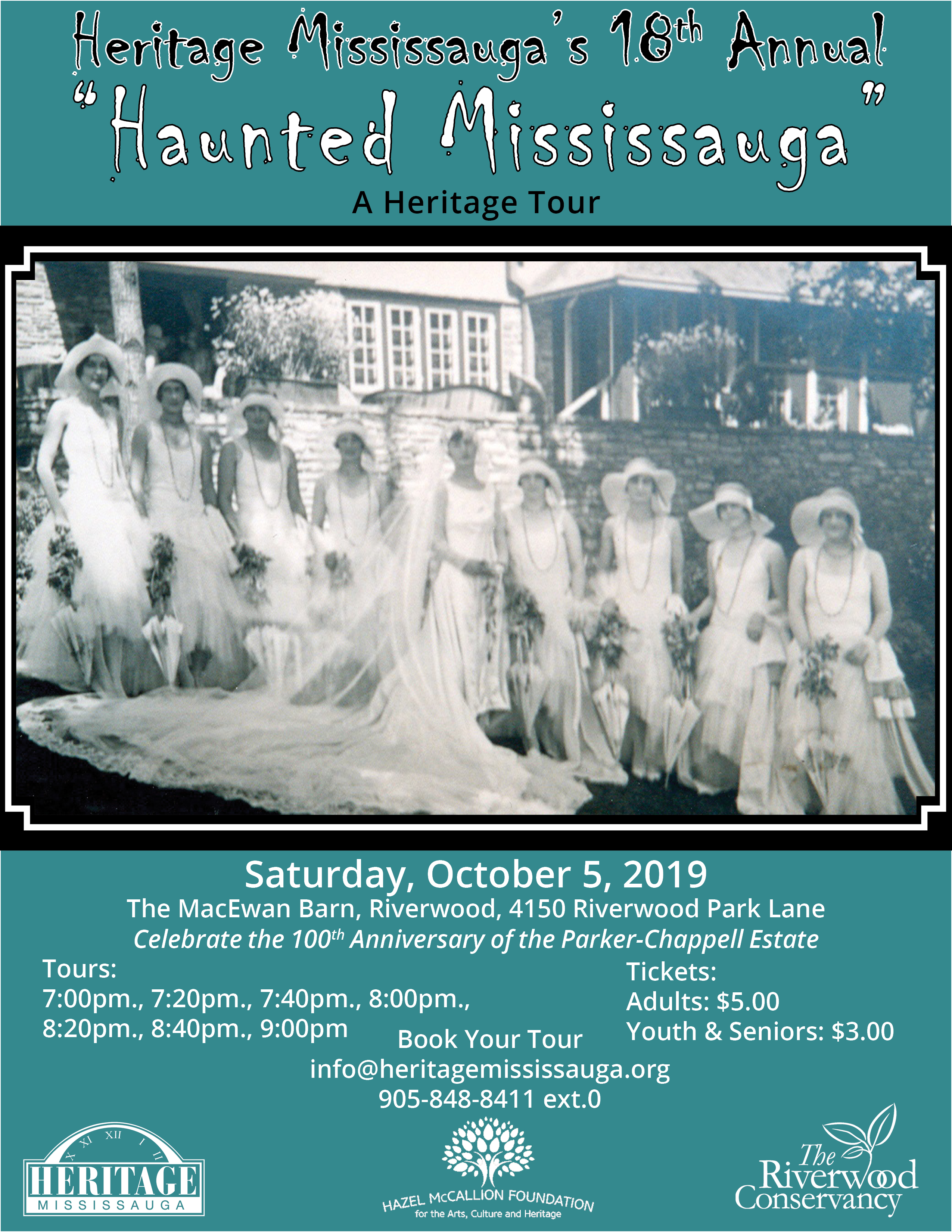Haunted Poster 2019 August 1