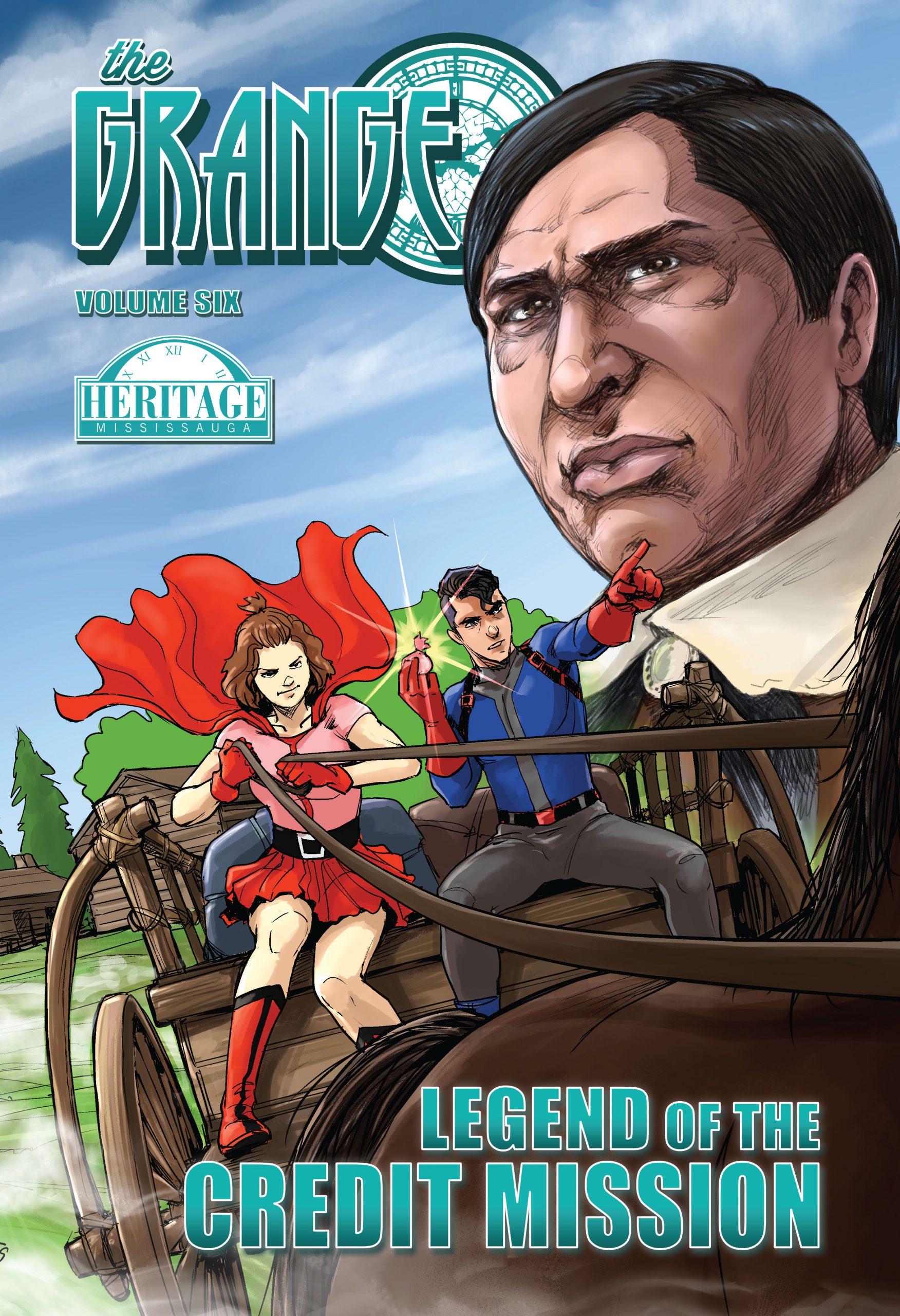 Grange Volume 6 – Credit Mission front cover