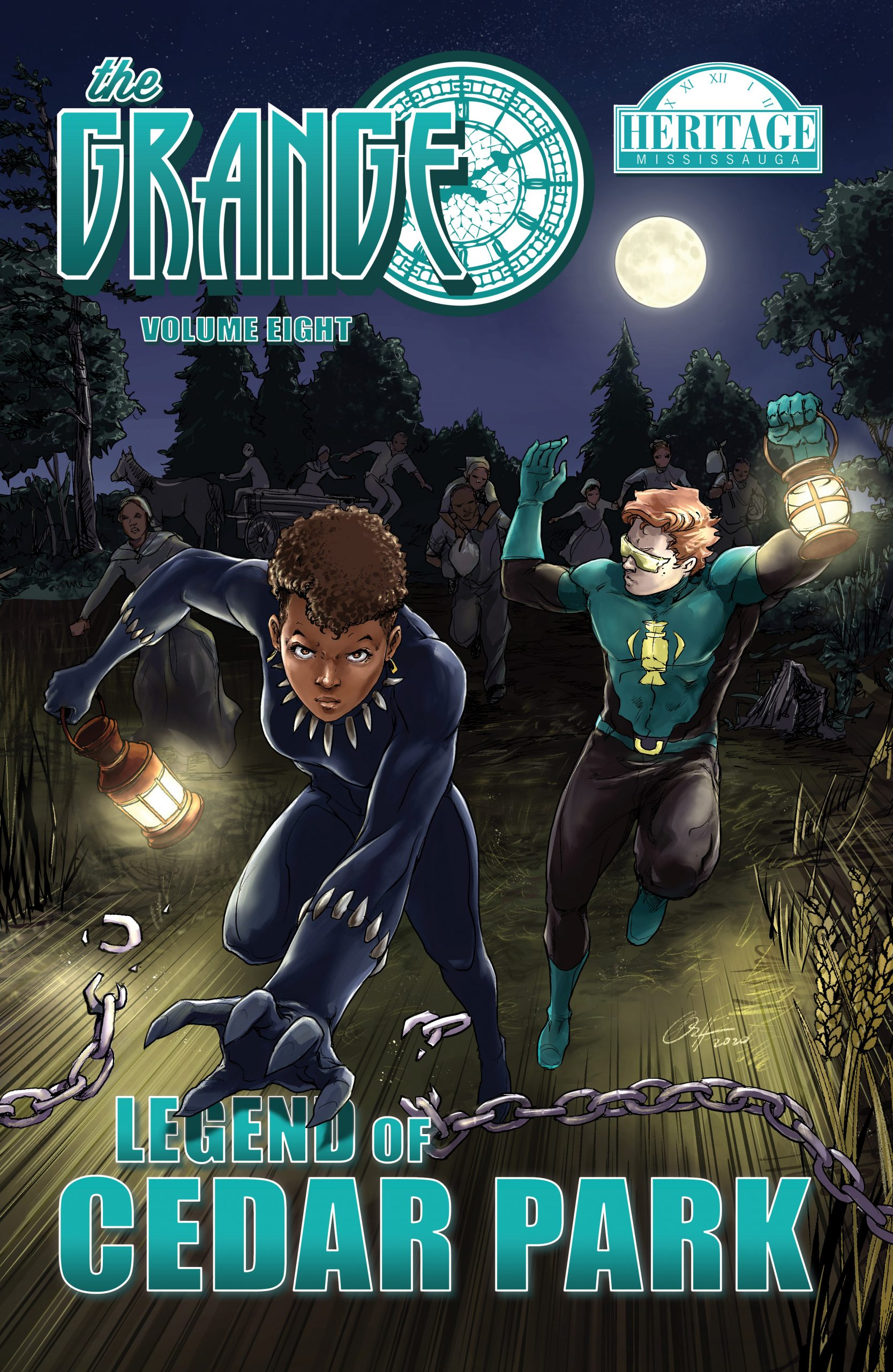 The Grange Volume 8 – front cover – jpeg