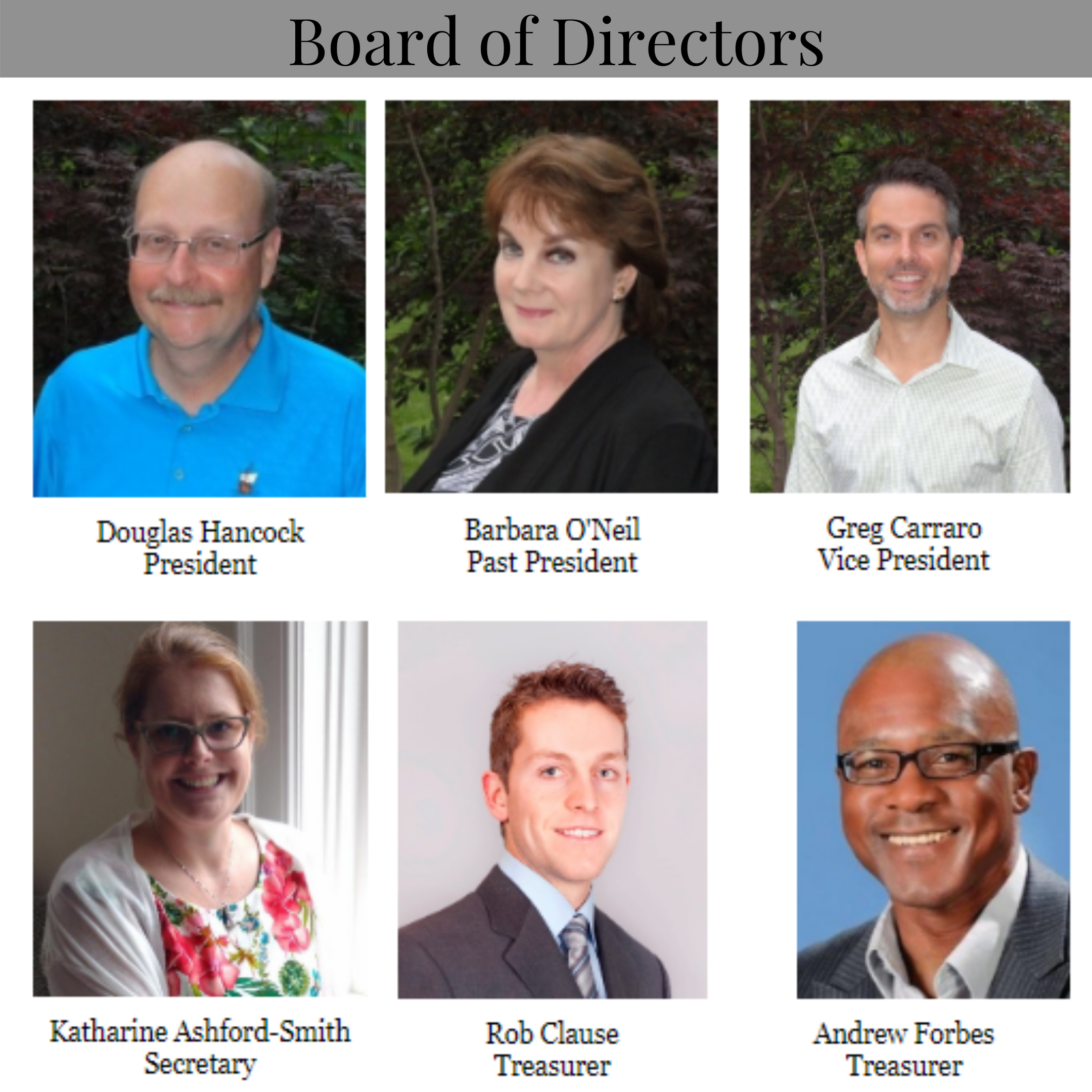 Board of Directors WS